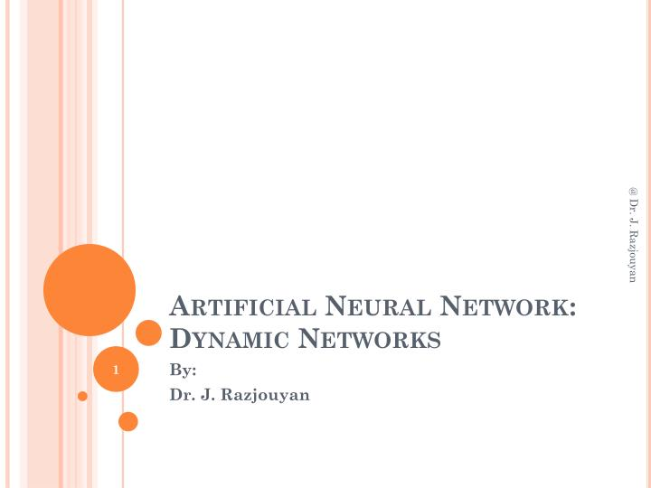 artificial neural network dynamic networks n.
