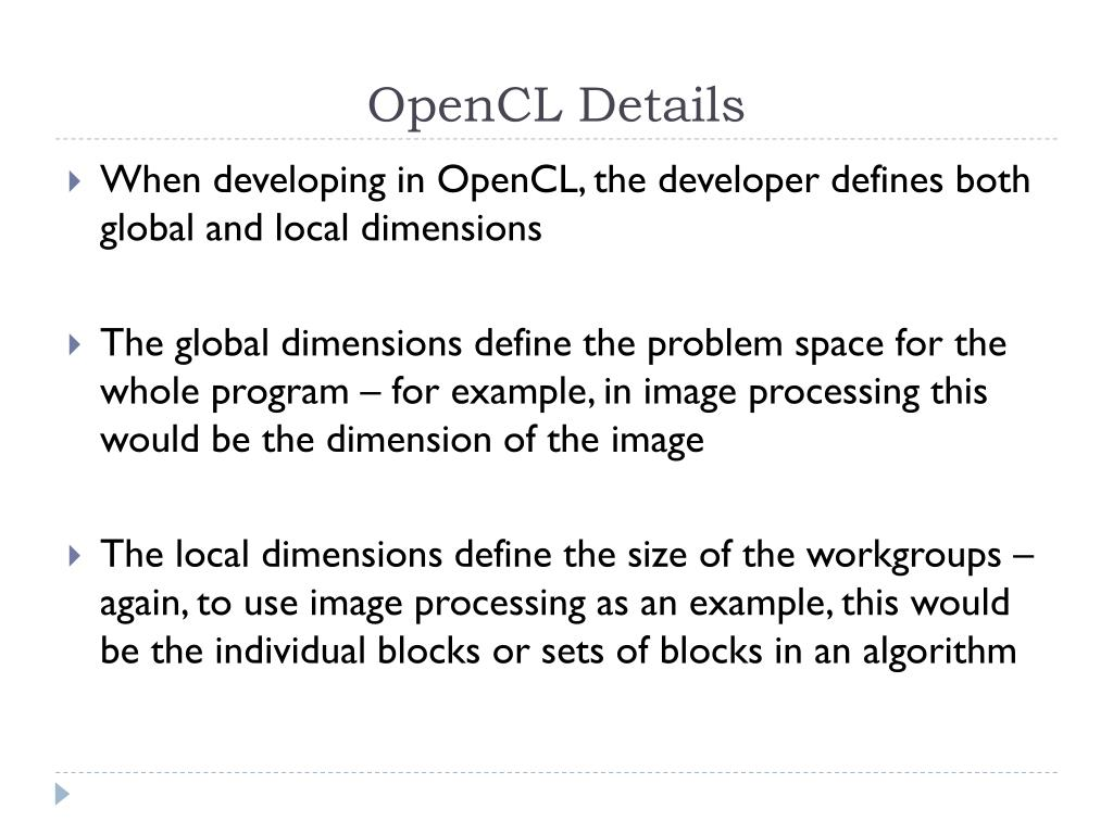 PPT - OpenCL PowerPoint Presentation - ID:2392531