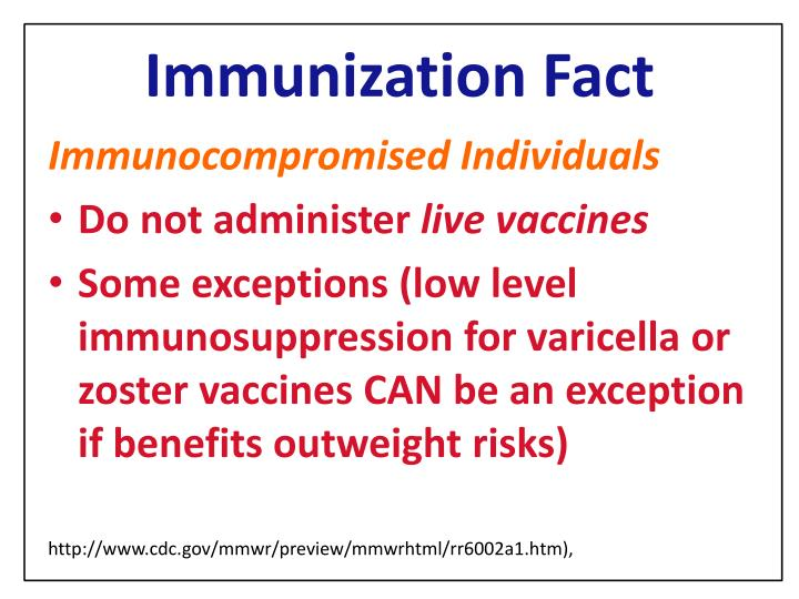 Ppt Immunization Update What Providers Need To Know