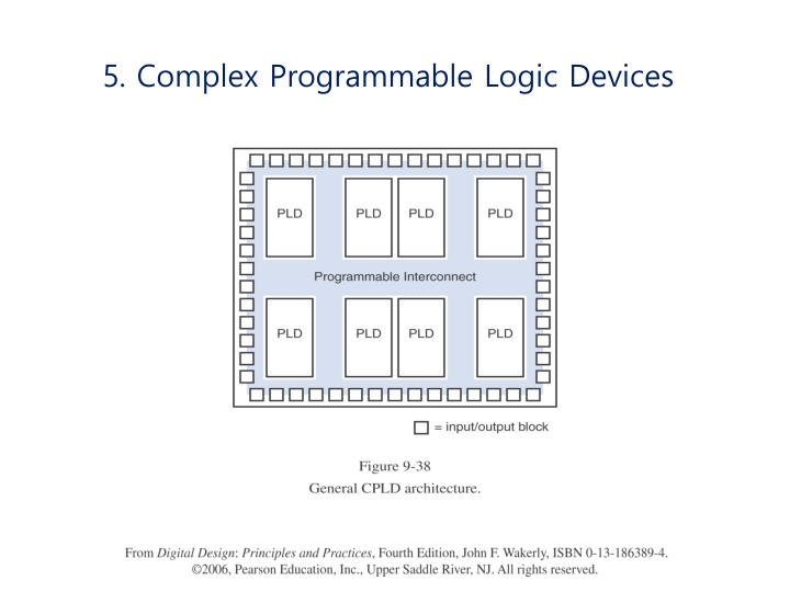 5. Complex Programmable Logic Devices