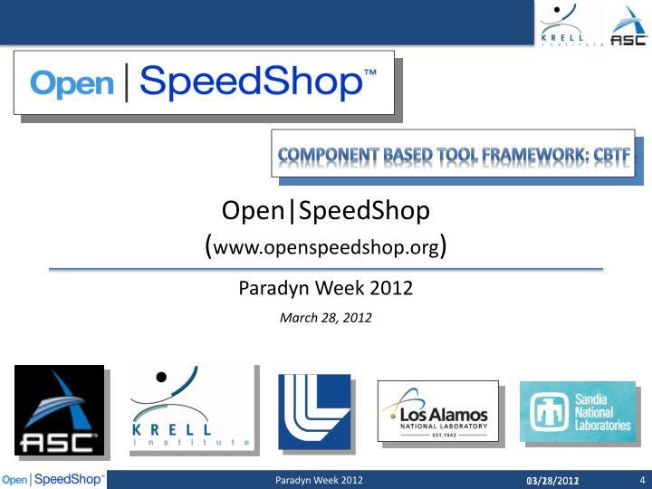 Open|SpeedShop