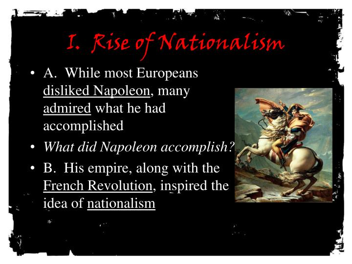 to what extent did napoleon destroy By sophie raymond 1 | p a g e to what extent did geographical factors hinder napoleon's expansion and control of his empire during the 1812 campaign in russia after 6 months napoleon's army would be destroyed and only 1 in 20 would return.