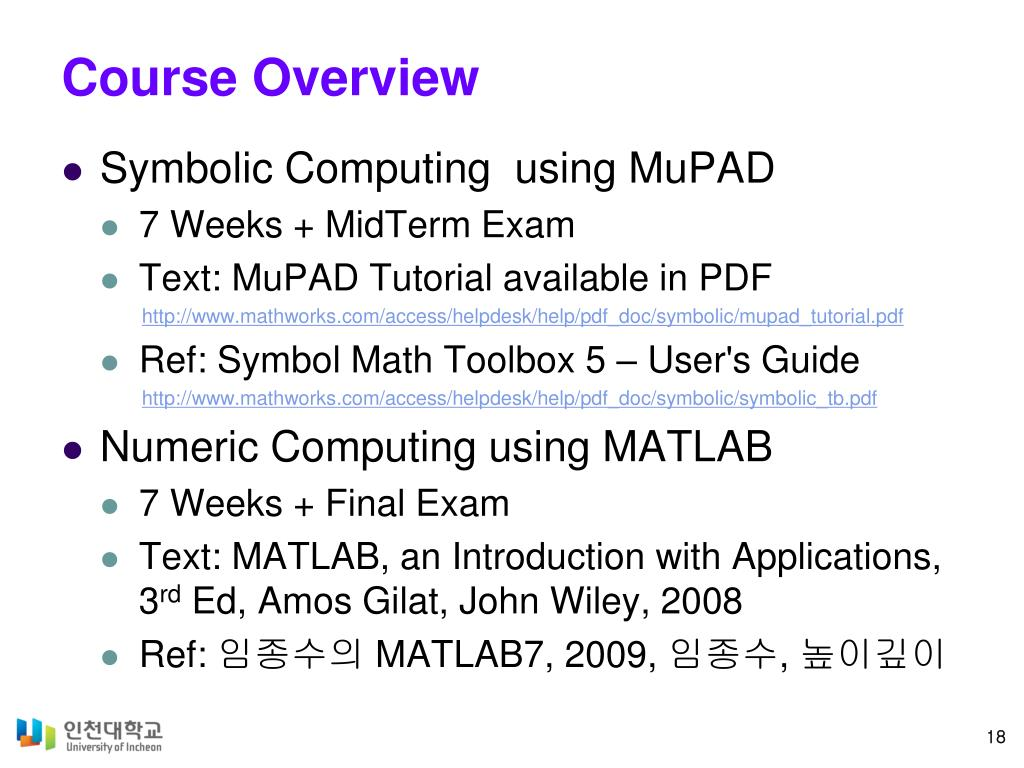 PPT - MATLAB for Scientist and Engineers PowerPoint Presentation
