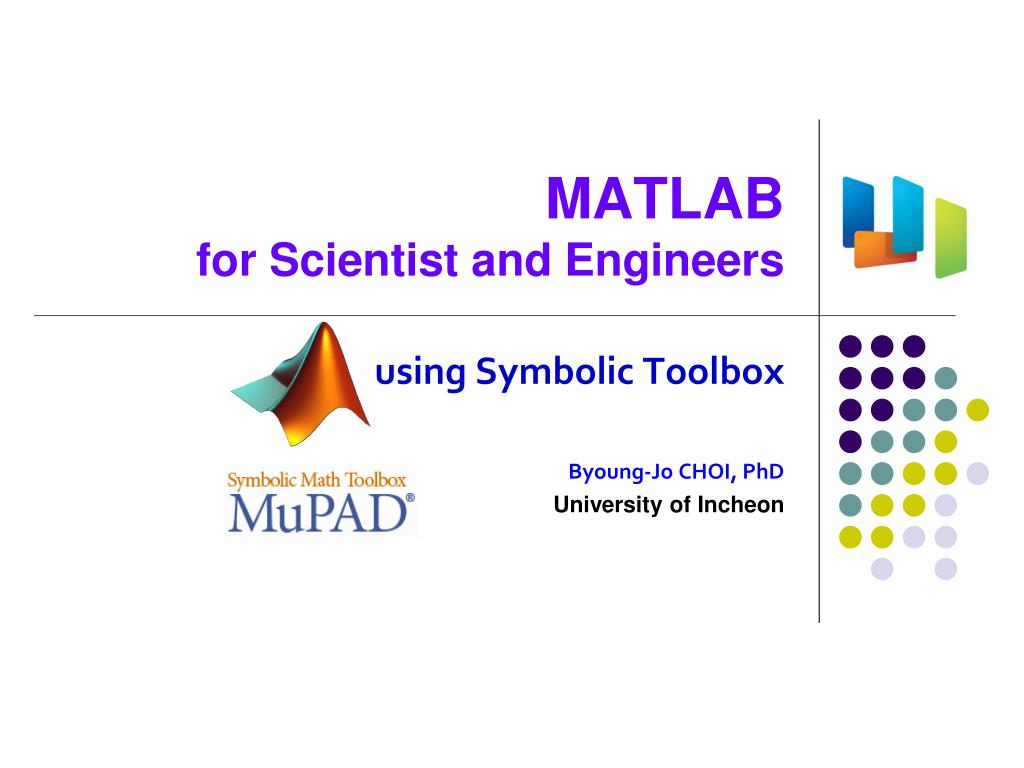 Ppt Matlab For Scientist And Engineers Powerpoint Presentation