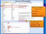access example