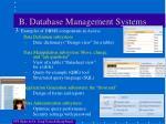 b database management systems1
