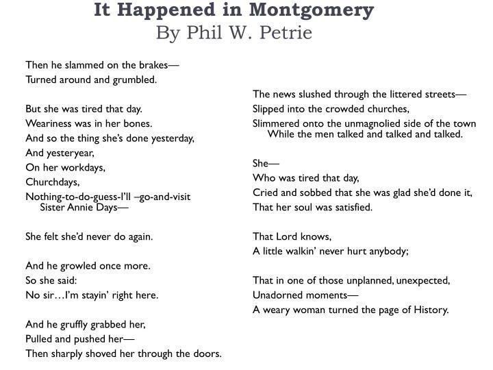 It Happened in Montgomery