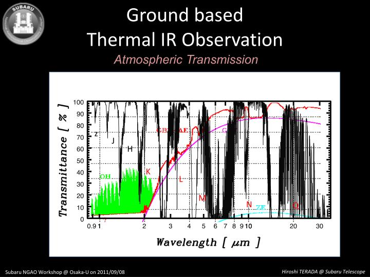 Ground based thermal ir observation1