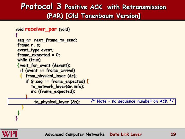 Protocol 3