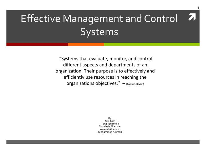 management and control Service management and control (smac) was first designed by a master plumber that was never quite happy with the systems he'd tried before he wanted access to his data at any time.