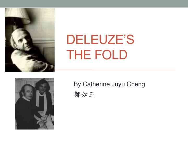 deleuze s the fold n.