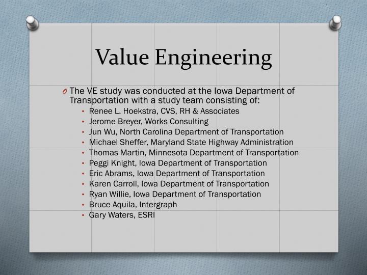 Value engineering1