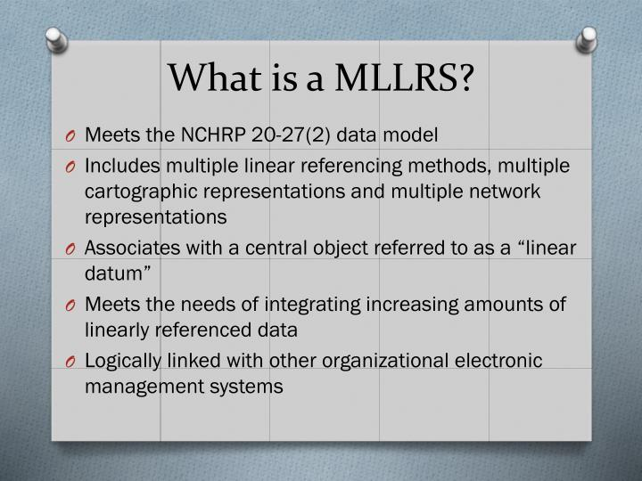 What is a MLLRS?