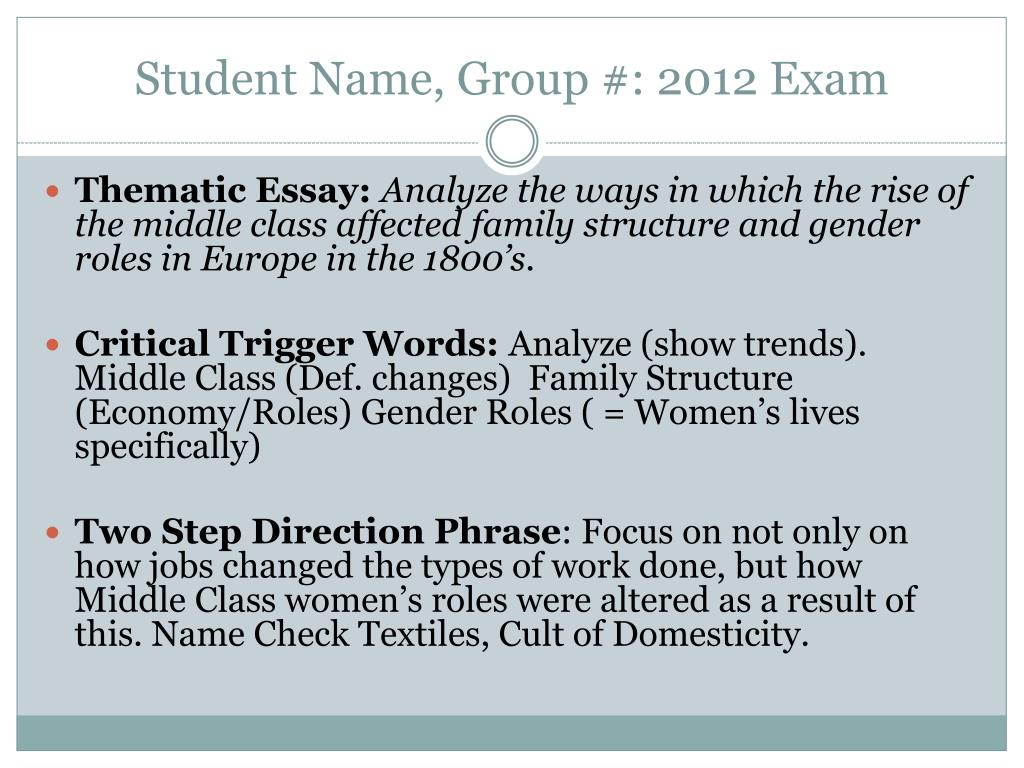 Essay On How To Start A Business Student Name Group  Exam N Essays With Thesis Statements also Thesis Statement Argumentative Essay Ppt  Student Name Group   Exam Powerpoint Presentation  Id  Example Of English Essay