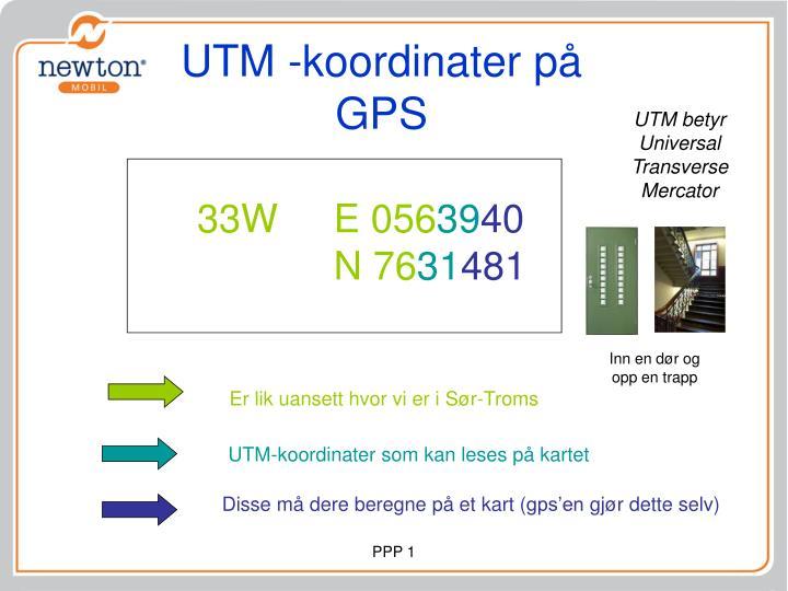 kart gps koordinater PPT   GPS (Global Positioning System) PowerPoint Presentation   ID  kart gps koordinater