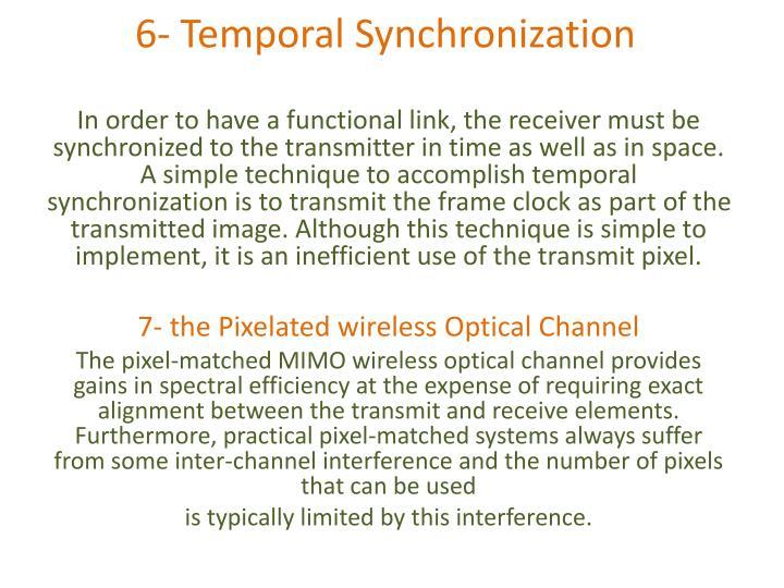 6- Temporal Synchronization