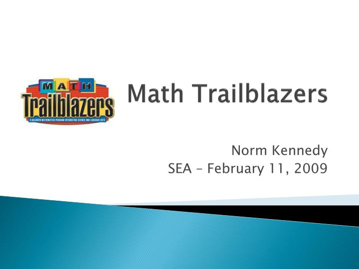 math trailblazers n.