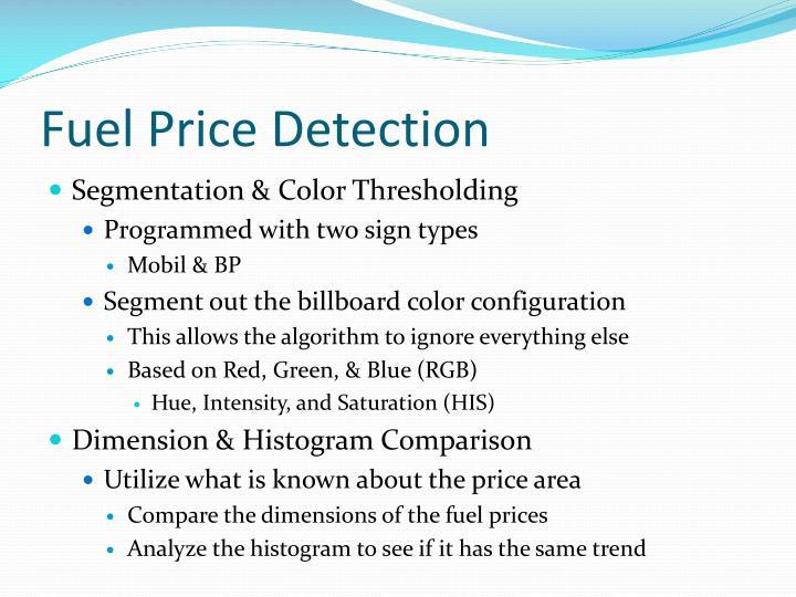 Fuel Price Detection