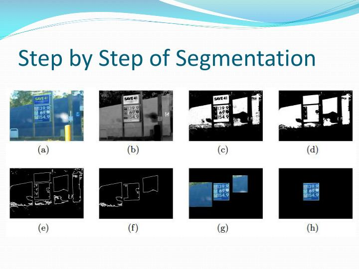 Step by Step of Segmentation