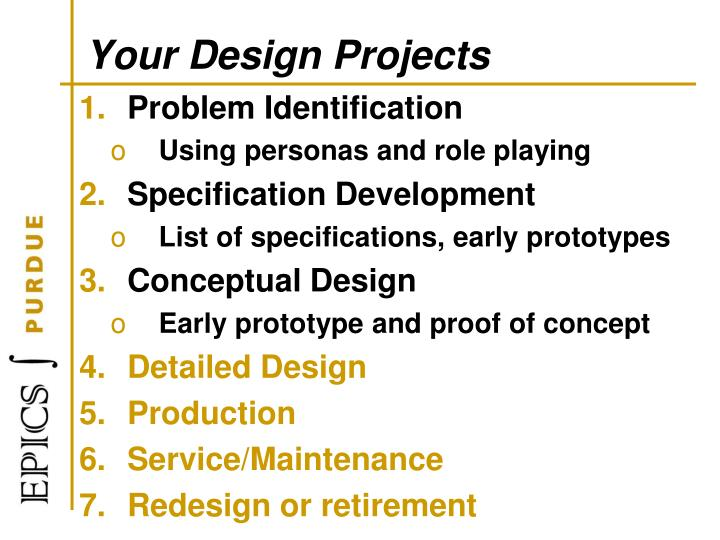Your Design Projects