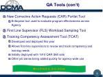 qa tools con t