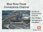 blue river flood conveyance channel