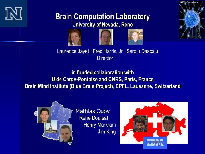 Brain Computation Laboratory