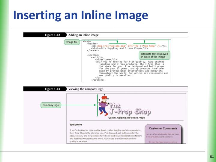 Inserting an Inline Image