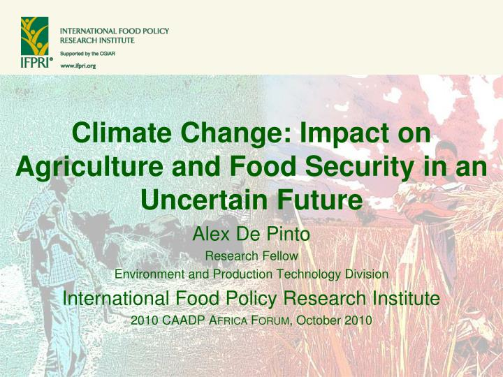 essay on impact of climate change