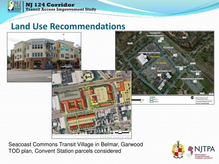 Land Use Recommendations