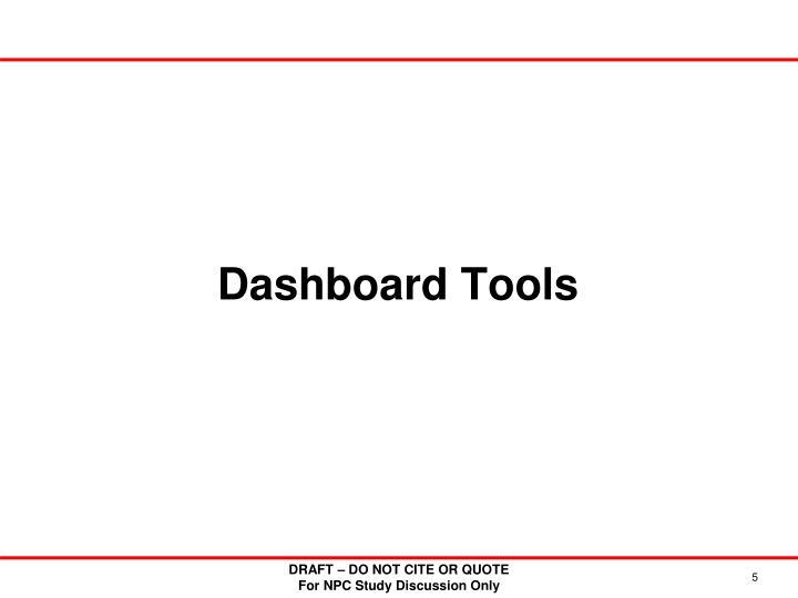 Dashboard Tools