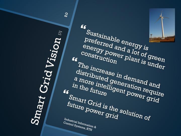 Smart grid vision 1