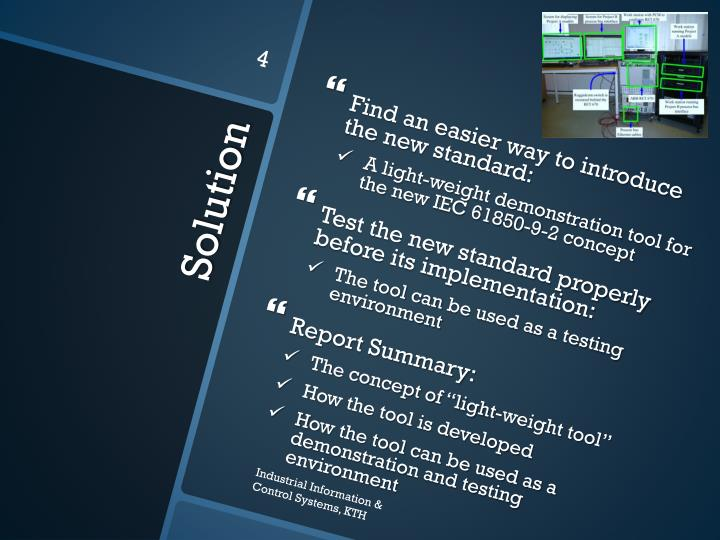 Find an easier way to introduce the new standard: