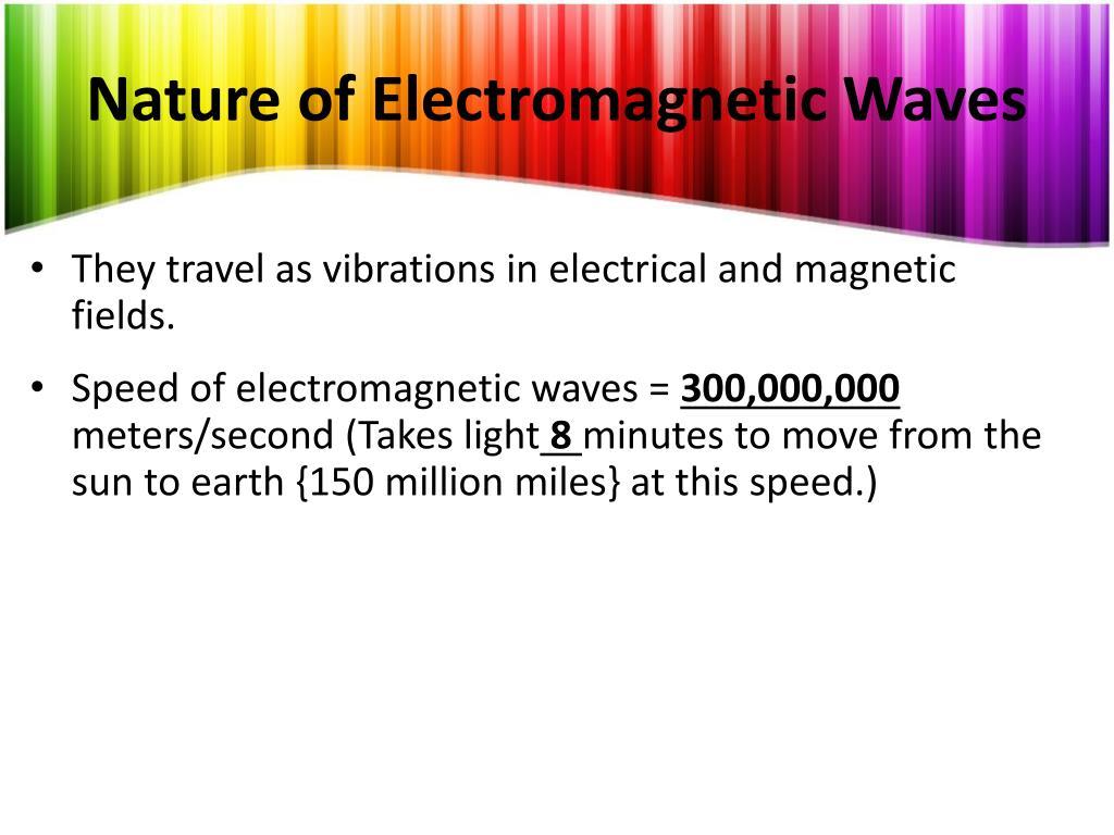 PPT - Electromagnectic Spectrum PowerPoint Presentation - ID