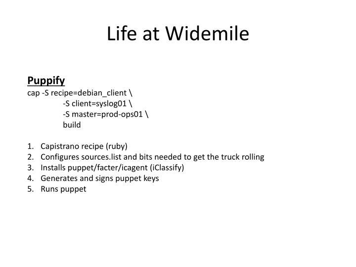 Life at