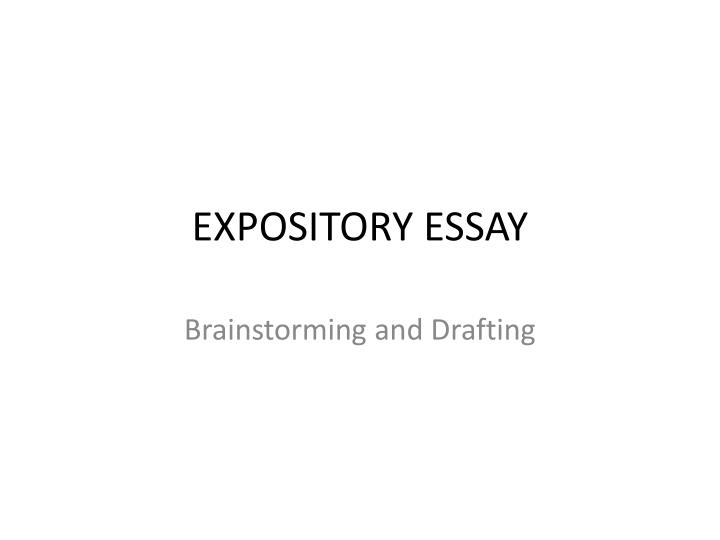 expository essay topics for high school students Grade 9 sausd 9/11 strat expository (strategic) the purpose of an expository essay is to describe  all students in high school learn to write an.