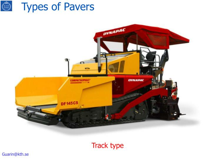Types of Pavers