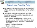 benefits of quality data