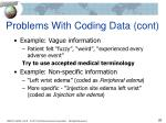 problems with coding data cont1