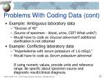 problems with coding data cont3