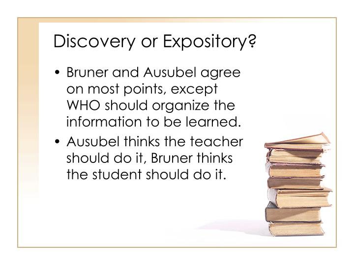 Discovery or Expository?