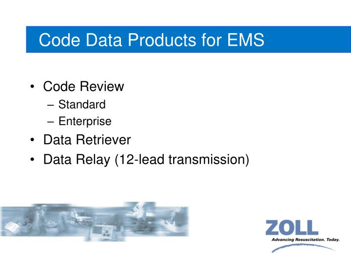 code data products for ems n.