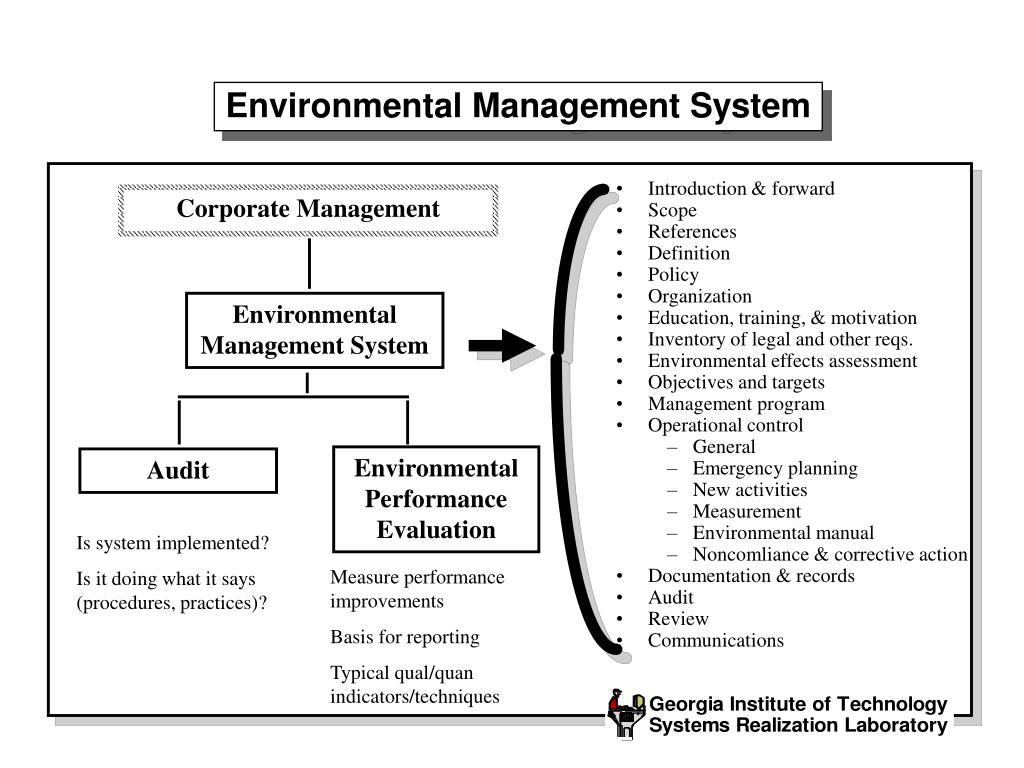 PPT - ISO 14000 – Environmental Management Standards