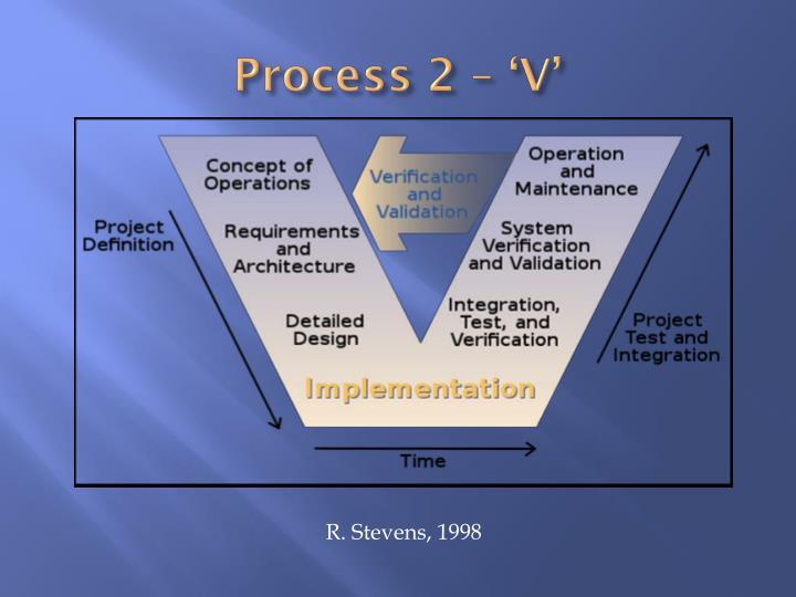 Process 2 – 'V'