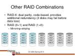 other raid combinations