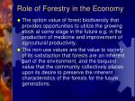 role of forestry in the economy2
