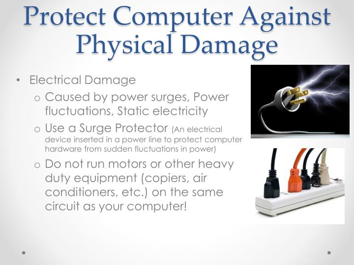 Protect Computer Against