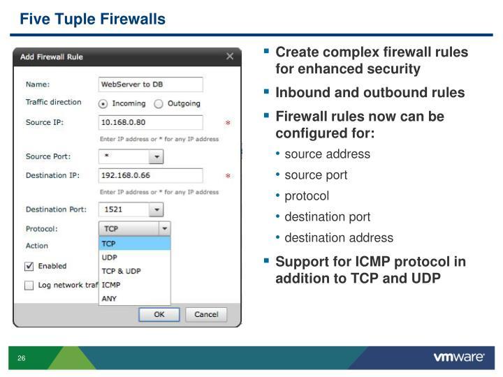 Five Tuple Firewalls
