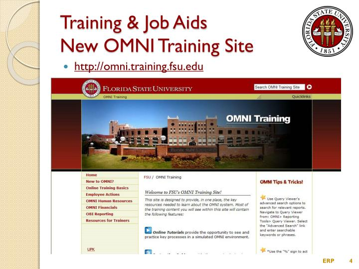 Training & Job Aids
