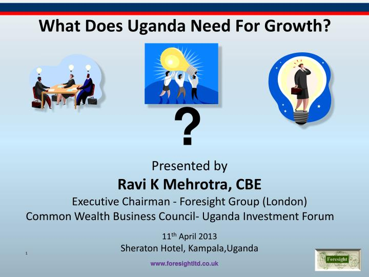 what does uganda need f or growth n.